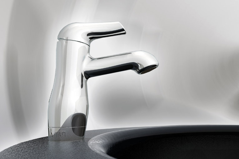 Gallery For > Bathroom Faucet Front