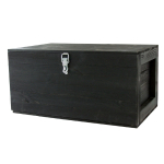 Basket chest, black