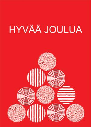 Christmas Card Finnish Language Ratiashop