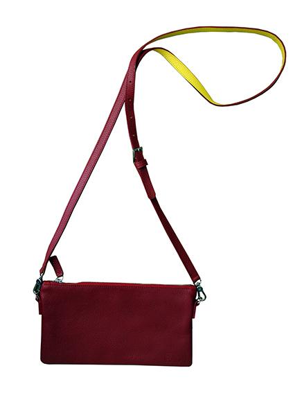 Punainen Käsilaukku : K?silaukku elina punainen ratia