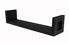Shelf, black