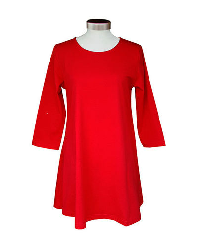 Tunic, red