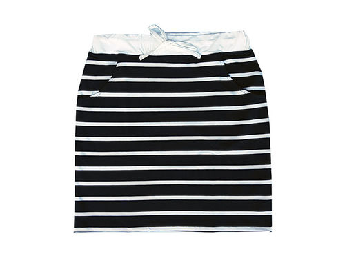 Skirt, black/ white