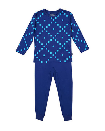 Children's pajamas, blue/ light blue