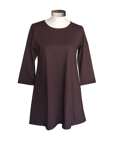 Tunic, brown