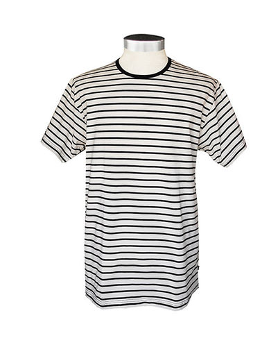 Men's T-shirt, white/ black