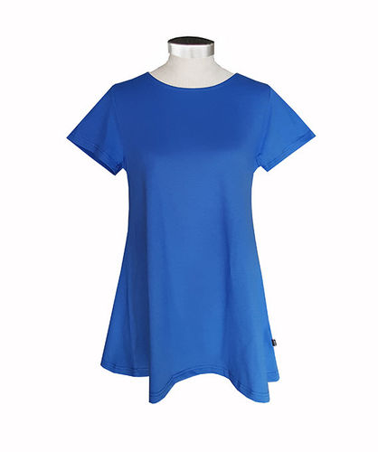 Women's tricot shirt, blue