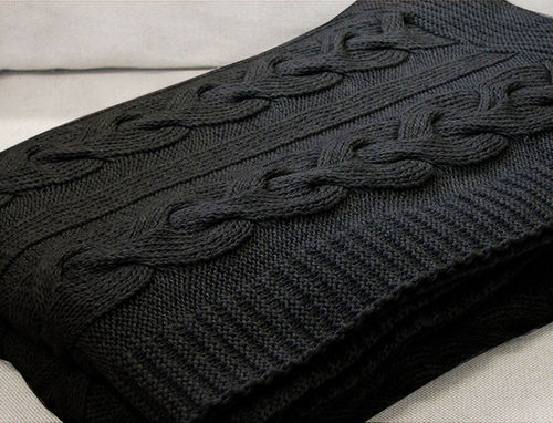 Nap blanket, dark grey