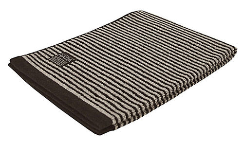 Hand towel, black/ sand
