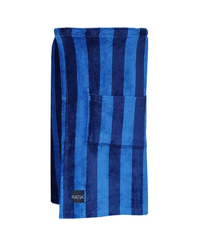 Loin cloth, blue/ dark blue
