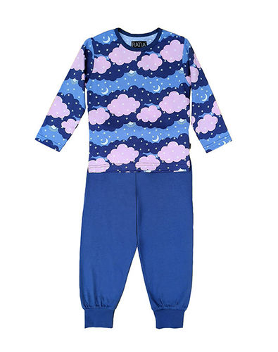 Children's pajamas, blue/ pink